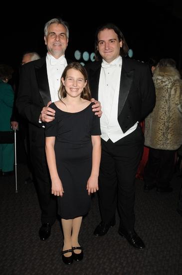 Maestro Victor DeRenzi, Maestro Pacien Mazzagatti and Leah Lane Photo